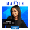 Podcast Europe 1 Campus avec Julia Martin