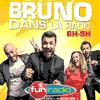 podcast fun radio Bruno dans la radio avec Bruno Guillon
